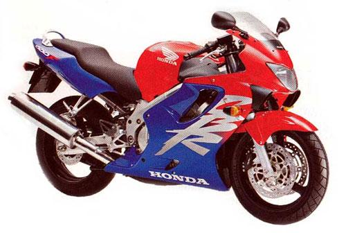 Четвертое поколение CBR600F (1999)