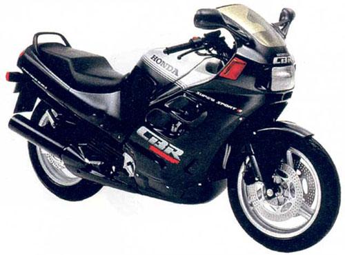 onda CBR1000F (1987)первого поколения.