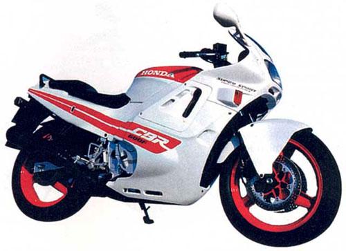 Модернизированный CBR600F (1989)
