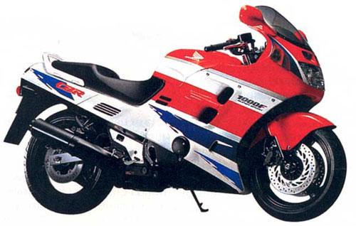 Второе поколение CBR1000F (1989)